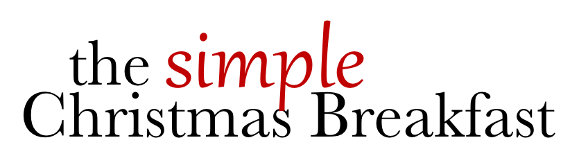 Simple Christmas Breakfast Recipes