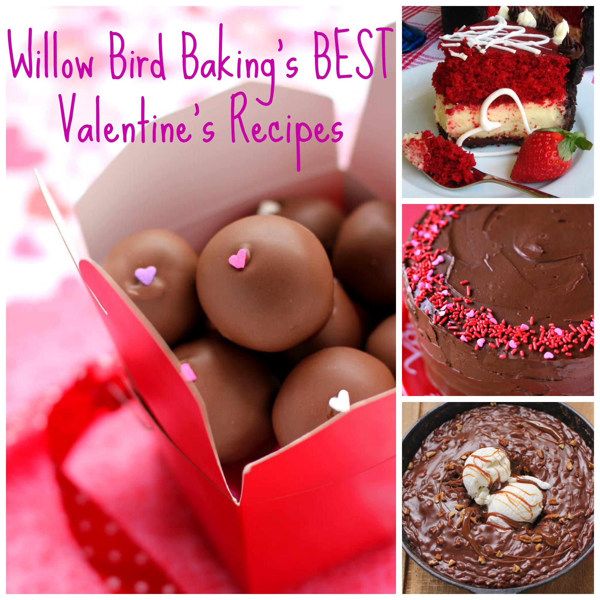 The BEST Valentine's Day Recipes from Willow Bird Baking