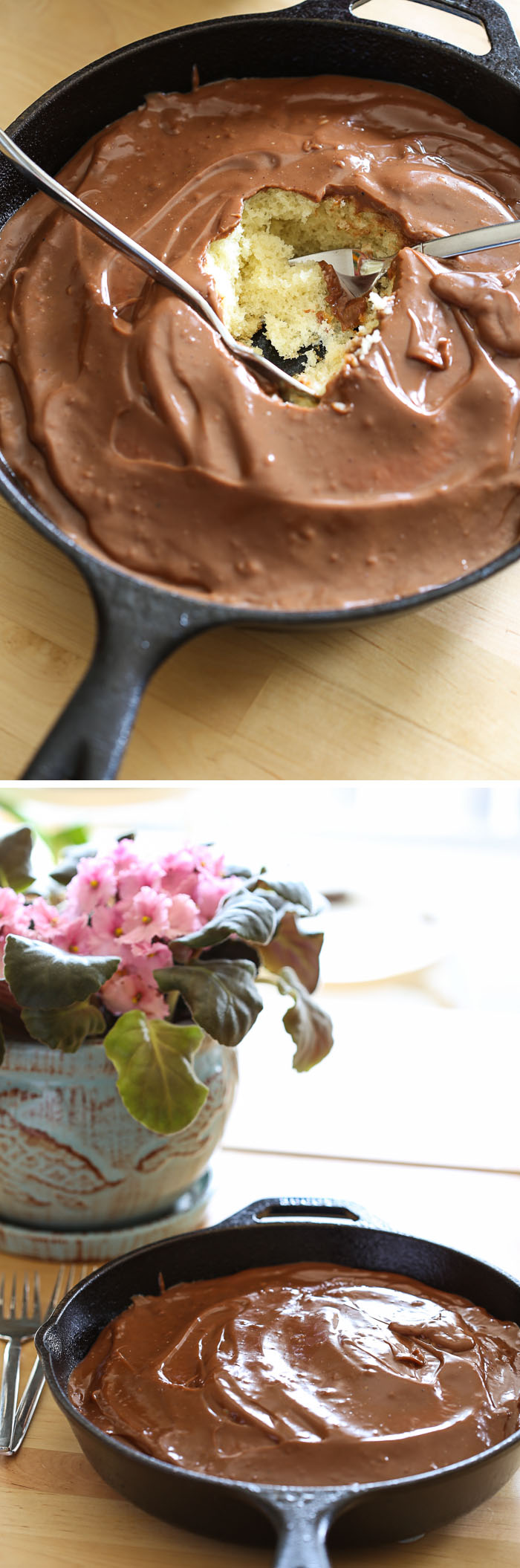 Abuelita Chocolate Pudding Cake
