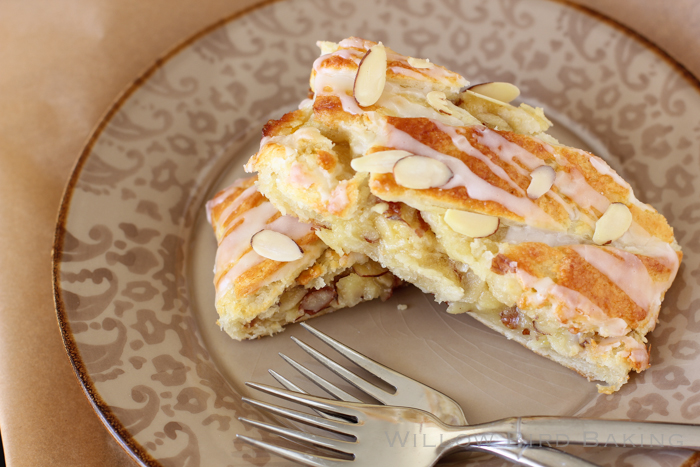 Buttery Almond Pastry Braid Recipe from Willow Bird Baking
