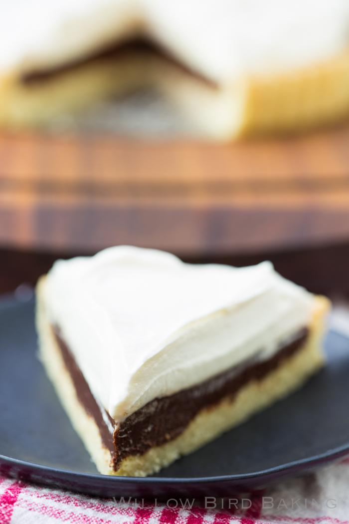 Bailey's Irish Cream Chocolate Tart