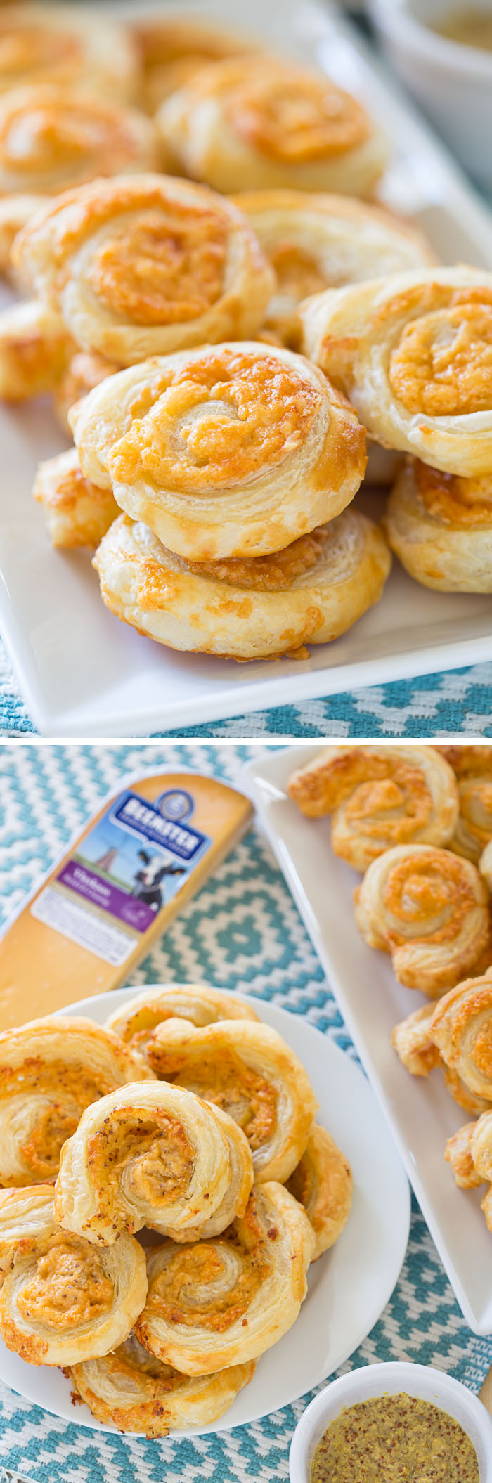Crispy Golden Cheese Pastries with Beemster Extra-Aged Gouda