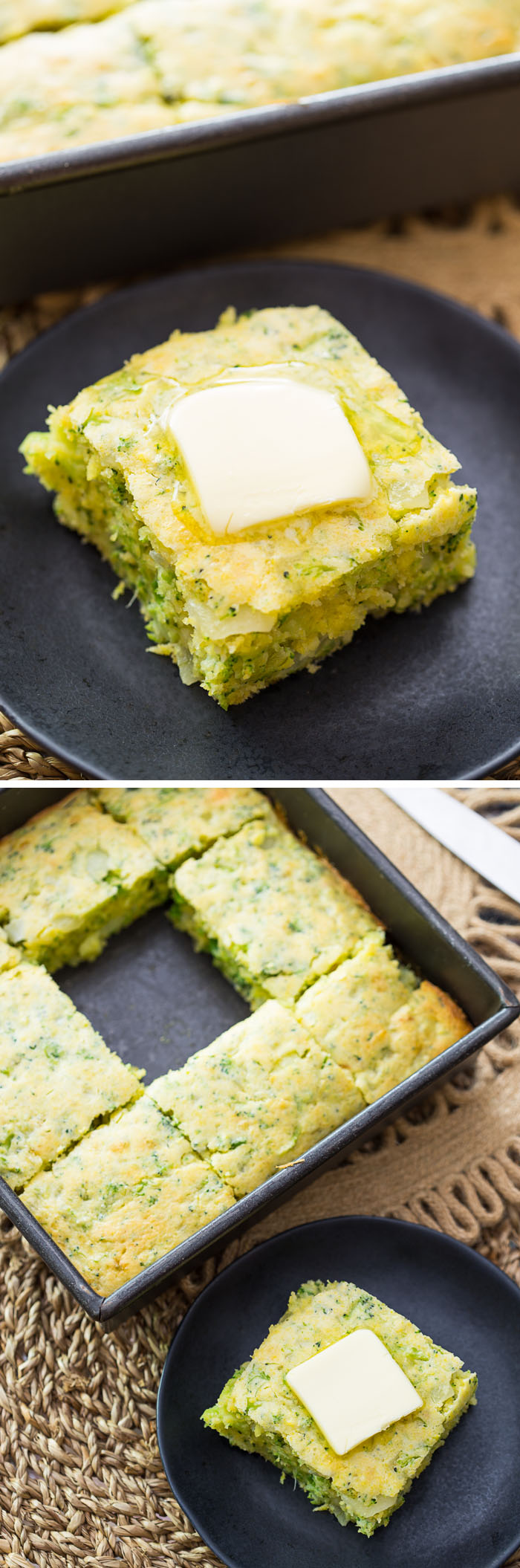 Buttery Broccoli Bread