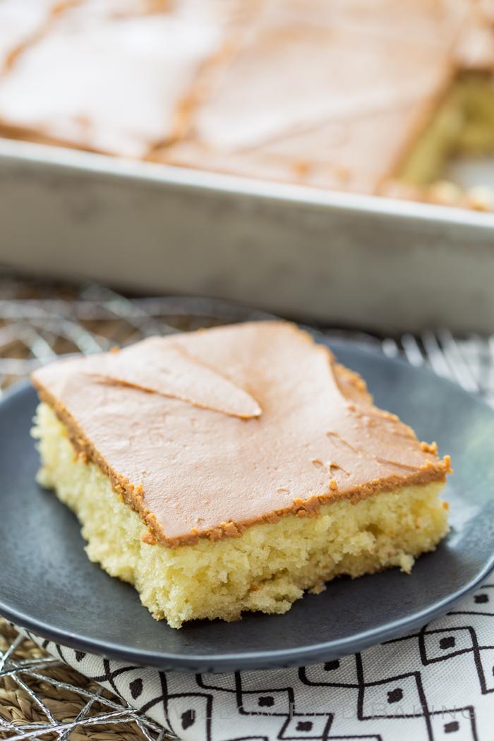 Southern Caramel Sheet Cake
