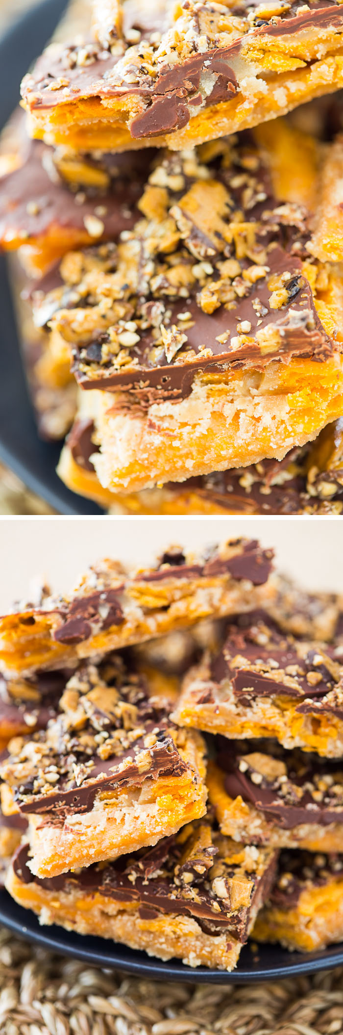 Cheese Cracker Saltine Toffee