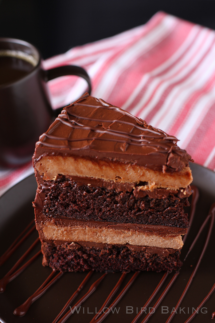Super Fancy Chocolate Cheesecake Cake