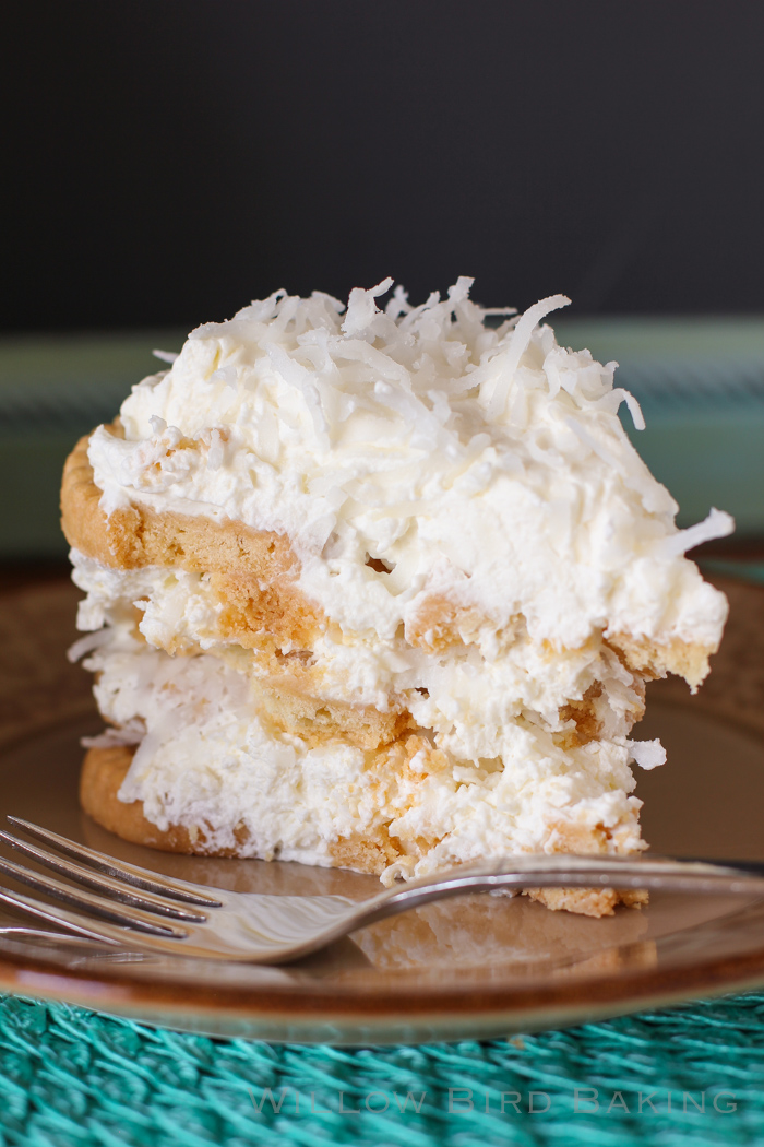 No-Bake Coconut Icebox Cake