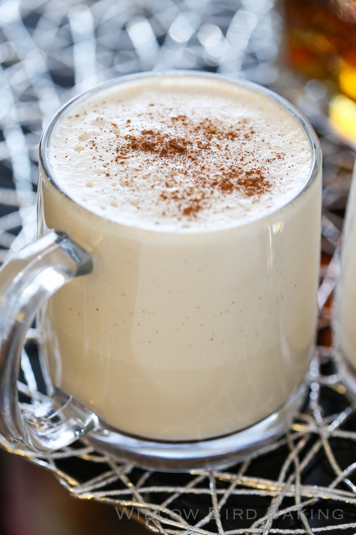 Thick Spiced Rum Coquito (Puerto Rican Eggnog)