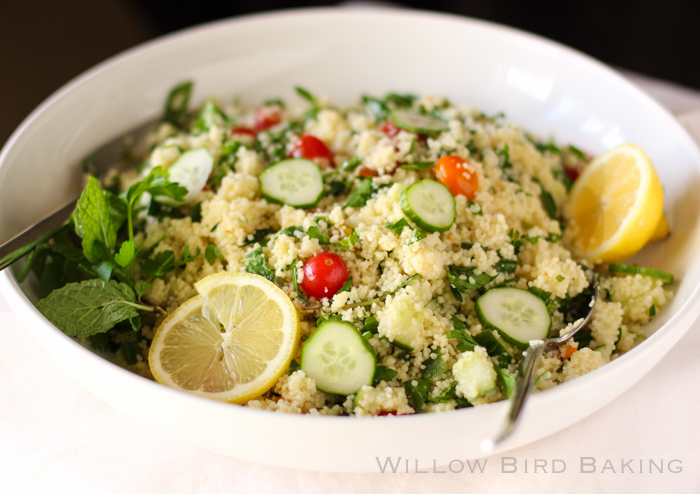 Easy, Healthy Couscous Tabbouleh