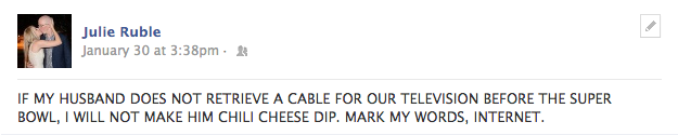 chili cheese dip threats