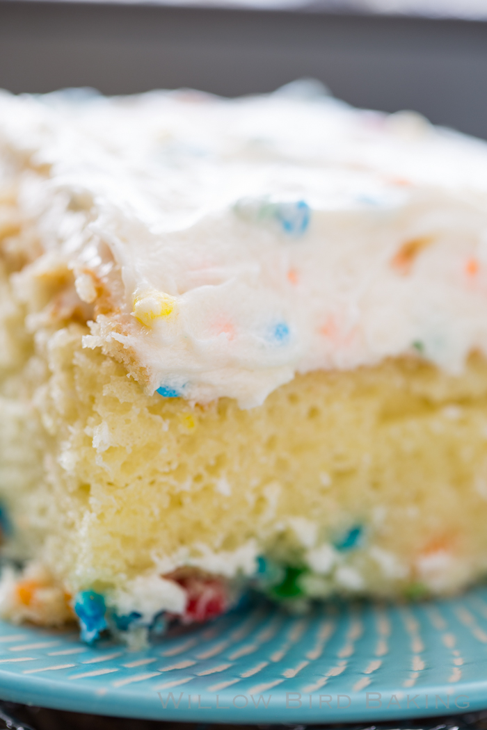Willow Bird Baking's Best Recipes of 2018: HOMEMADE FUNFETTI CAKE