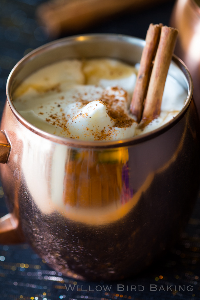Hot Buttered Rum - Willow Bird Baking