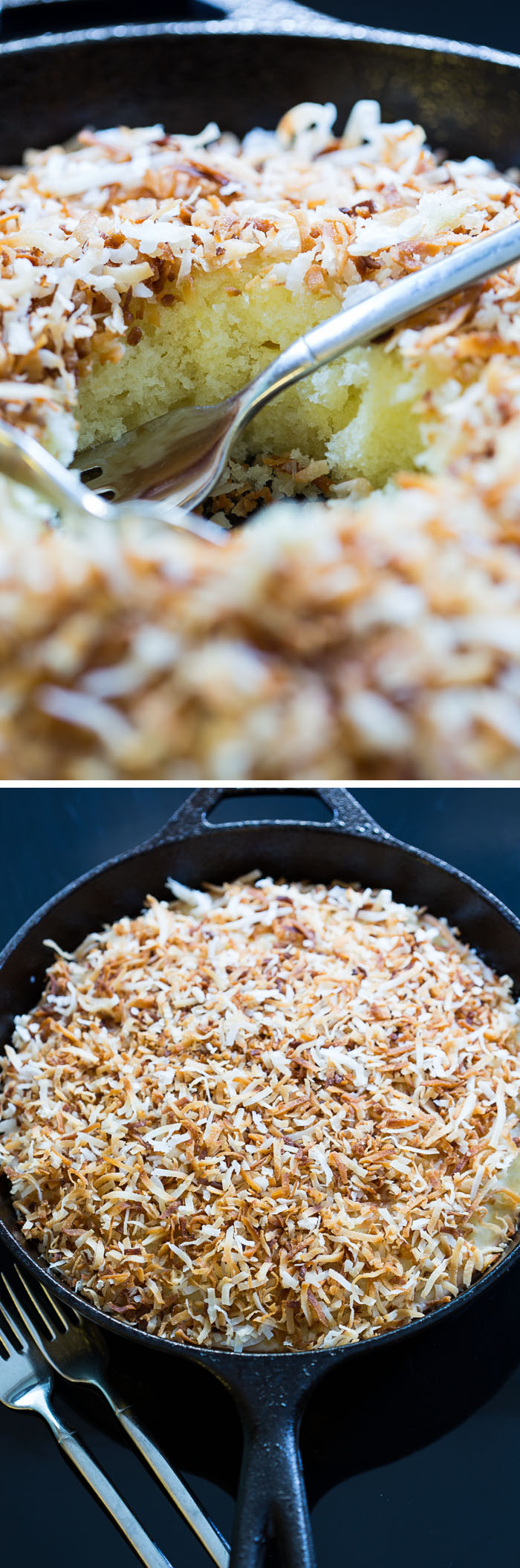 Hot Toasted Coconut Cake