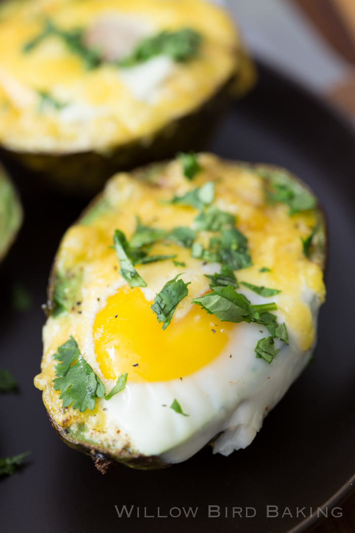 Baked Eggs in Avocado Boats