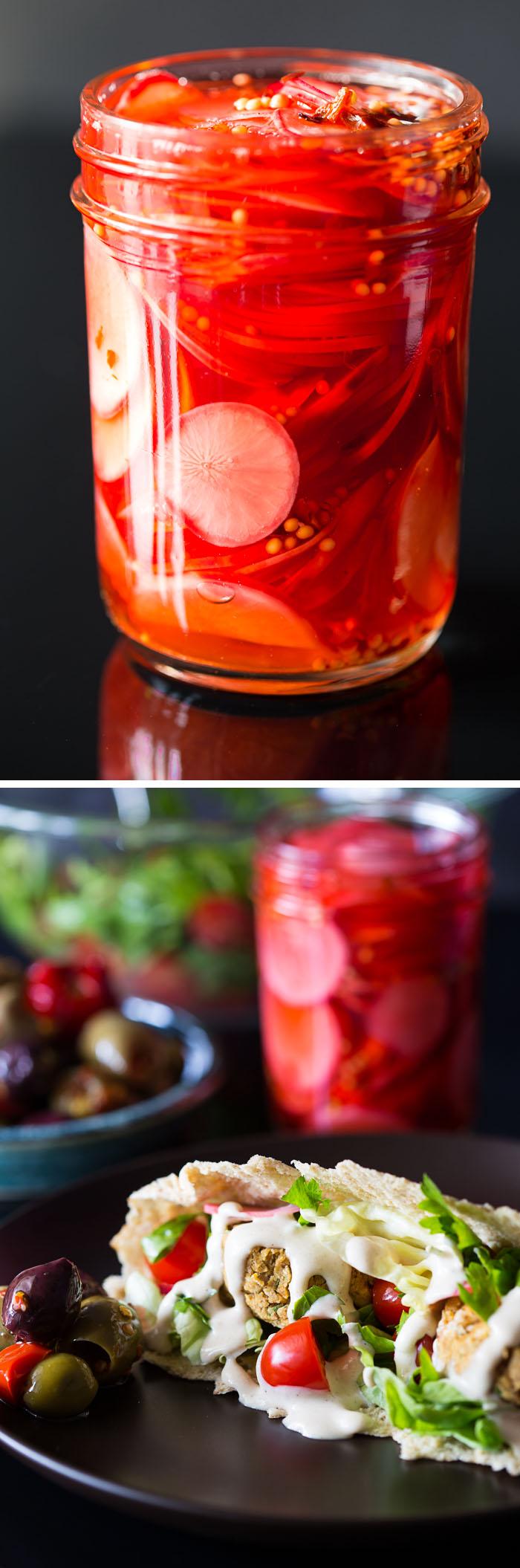 Quick-Pickled Radishes Recipe