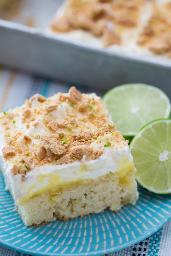 Key Lime Pie Sheet Cake