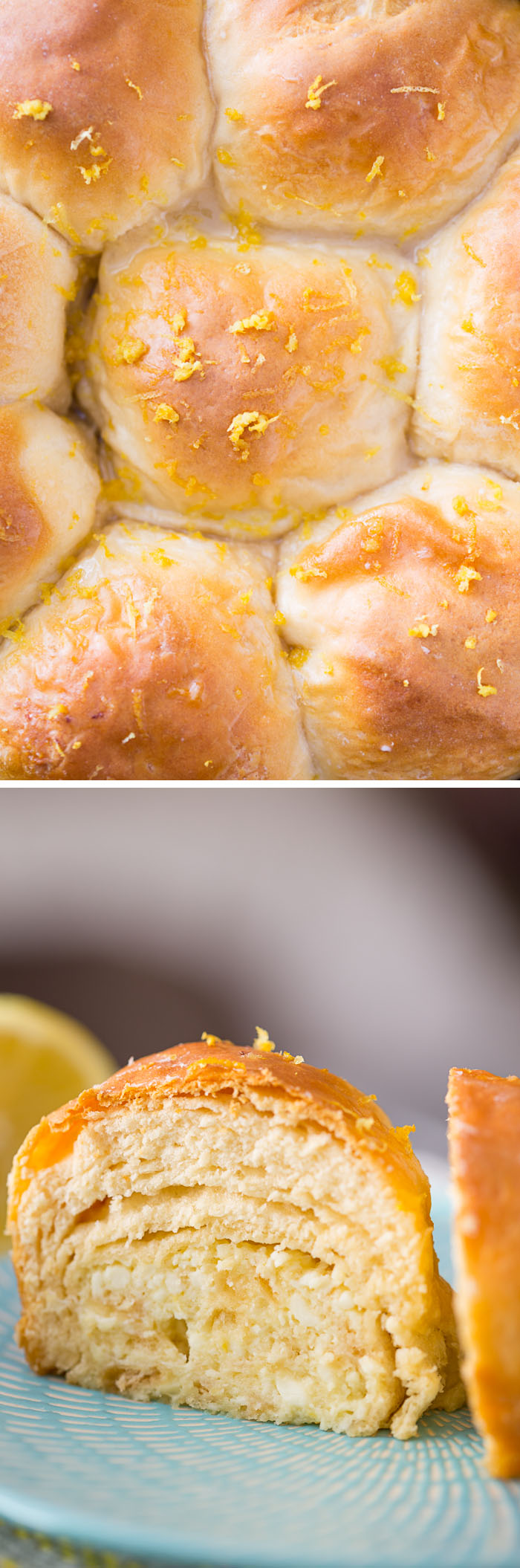 Lemon Cheesecake Biscuit Bombs