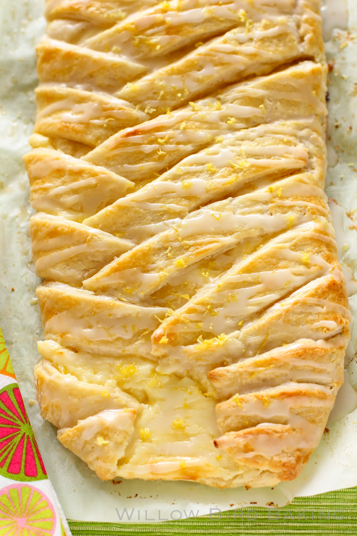 LEMON CHEESECAKE BRAID