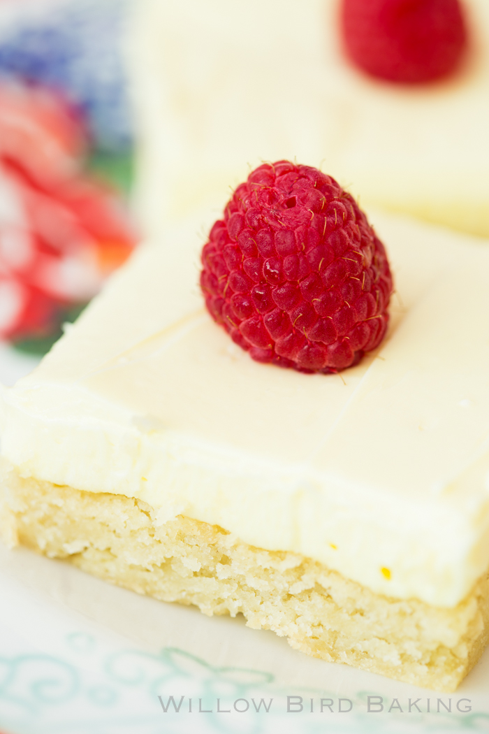 Easy Lemon Cream Sugar Cookie Bars