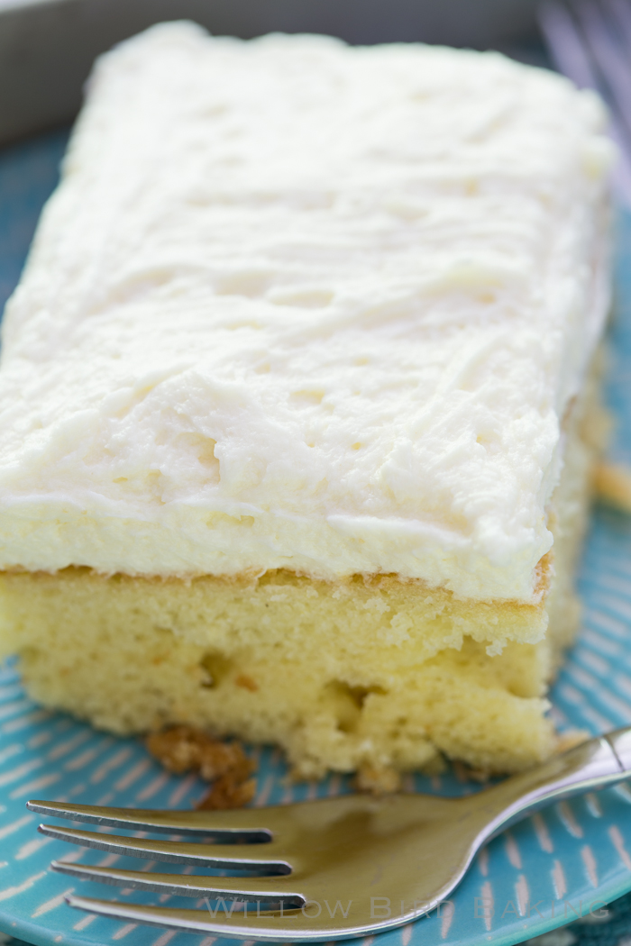 Lemon Cake with Whipped Icing