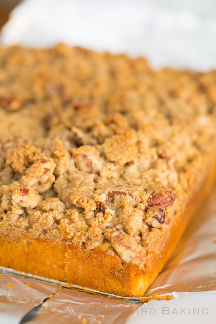 Maple Double Crumb Coffee Cake