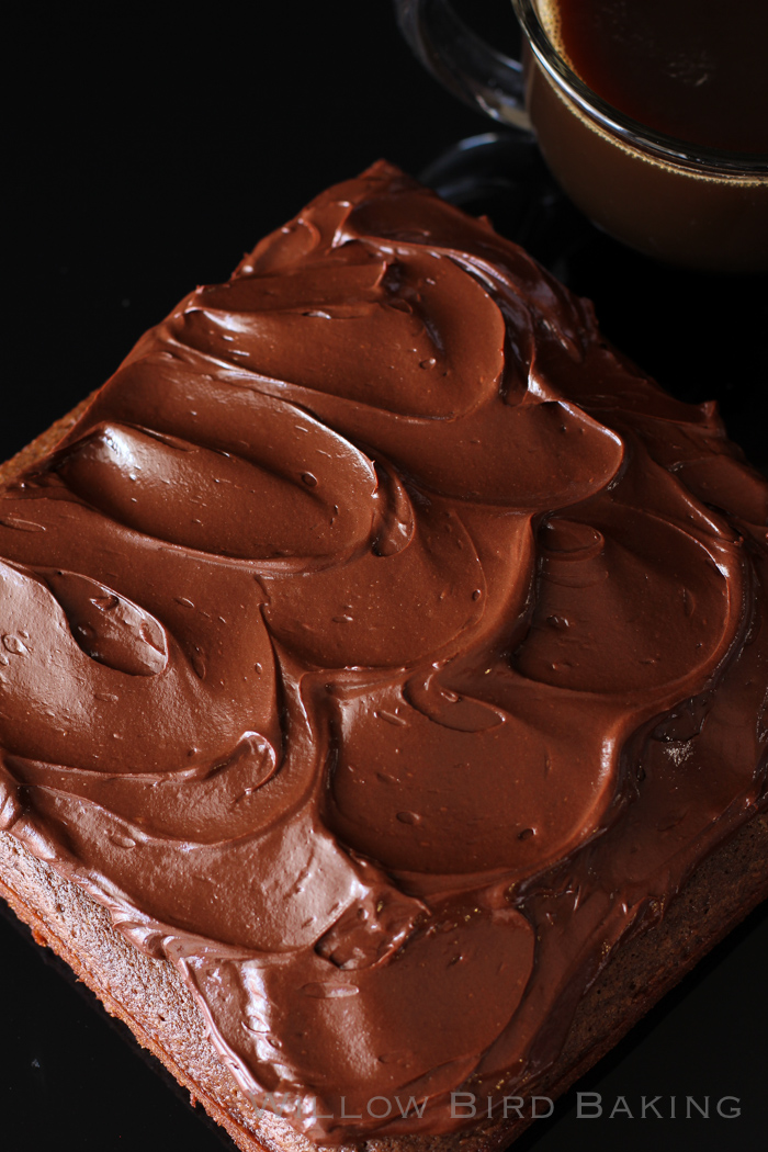 Intense Chocolate Mocha Cake