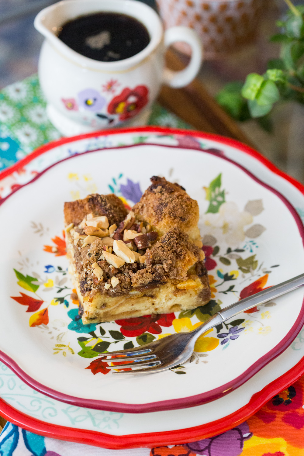 Panettone French Toast Casserole