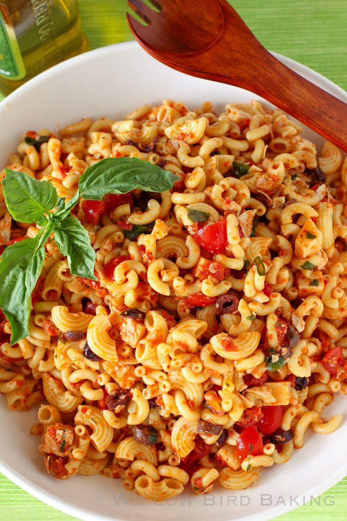 Easter Sides: The Best Macaroni Salad Ever & Sundried Tomato Pasta Salad