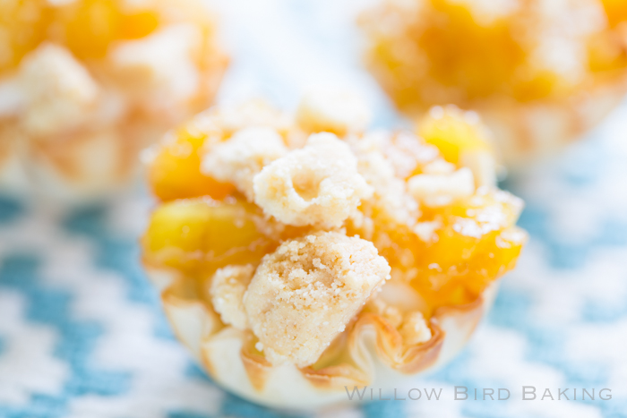 Caramelized Pineapple Cheesecake Cups
