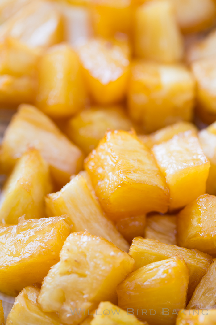 Caramelized Pineapple Parfaits