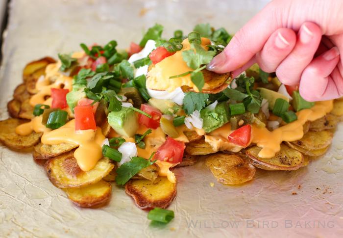 Loaded Potato Nachos Recipe