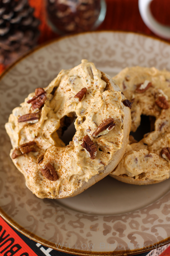 Pumpkin Pecan Cream Cheese Spread