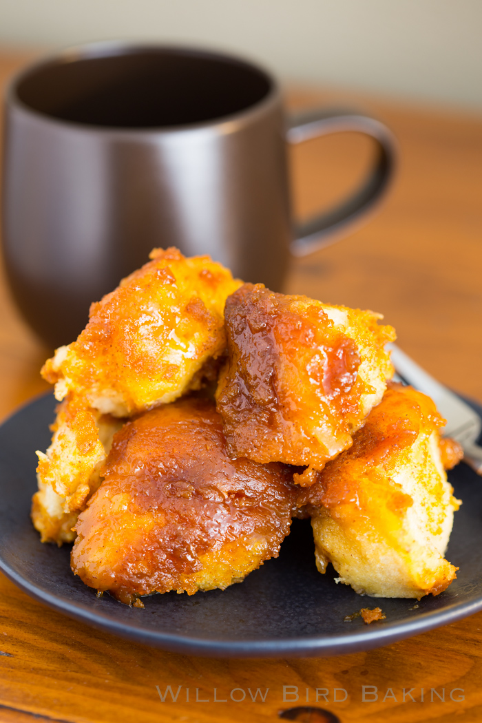 Pumpkin Pie Monkey Bread