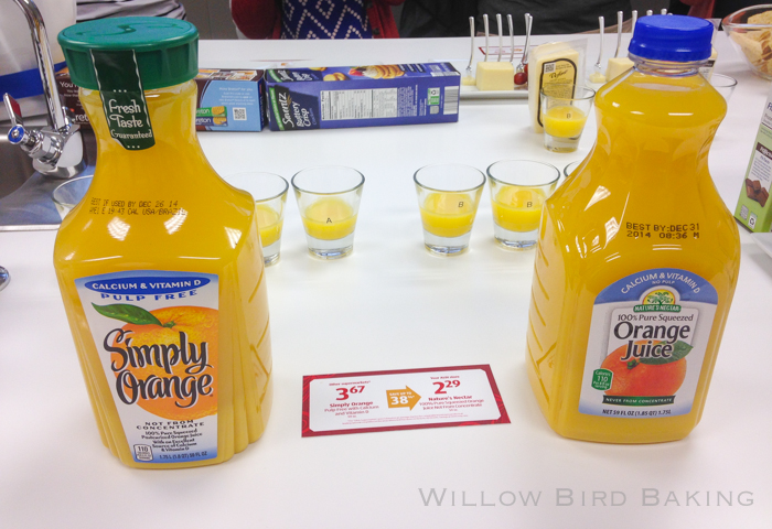 ALDI grocery store blind taste test