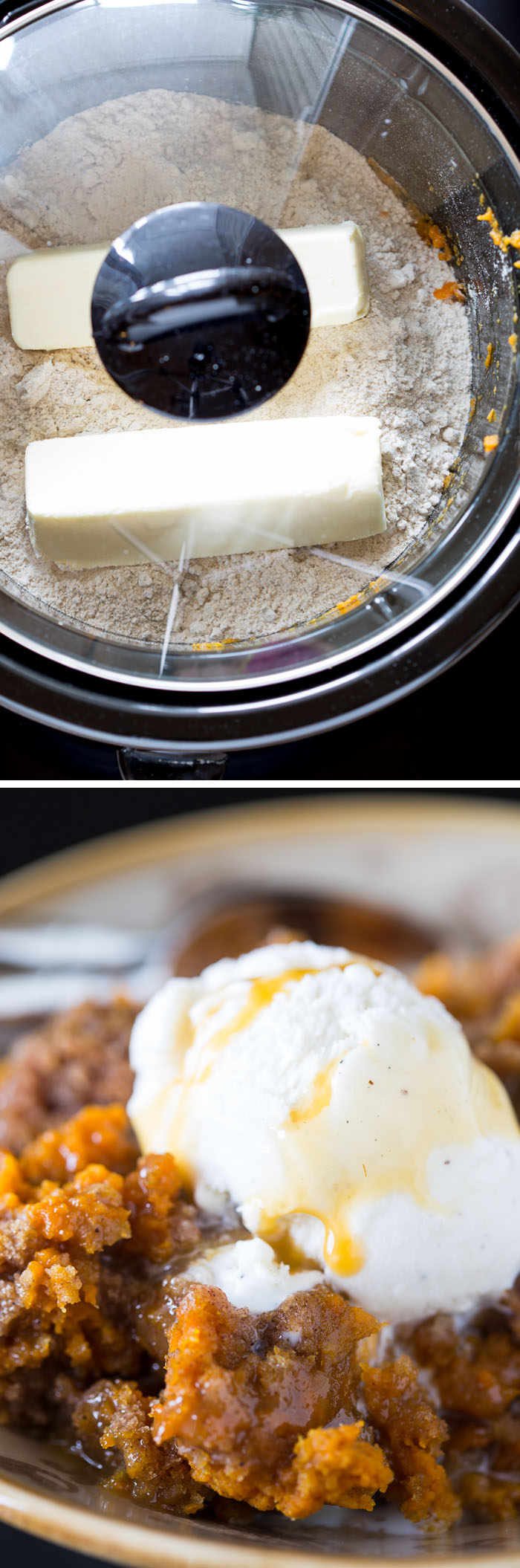 3-Ingredient Slow-Cooker Pumpkin Cake