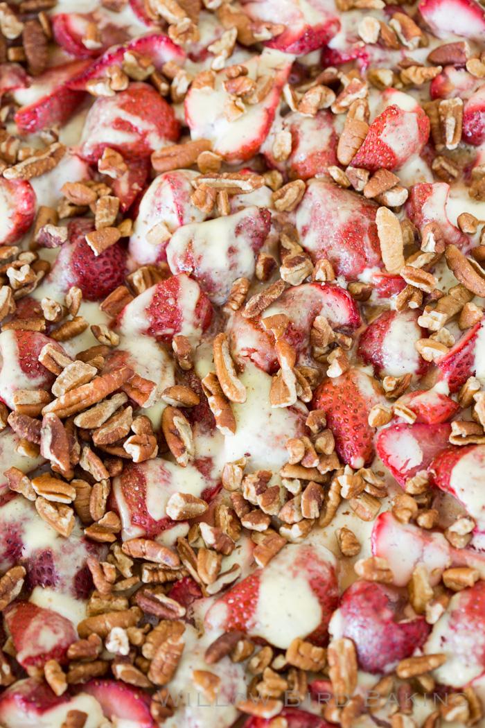 Strawberry Sour Cream Kuchen