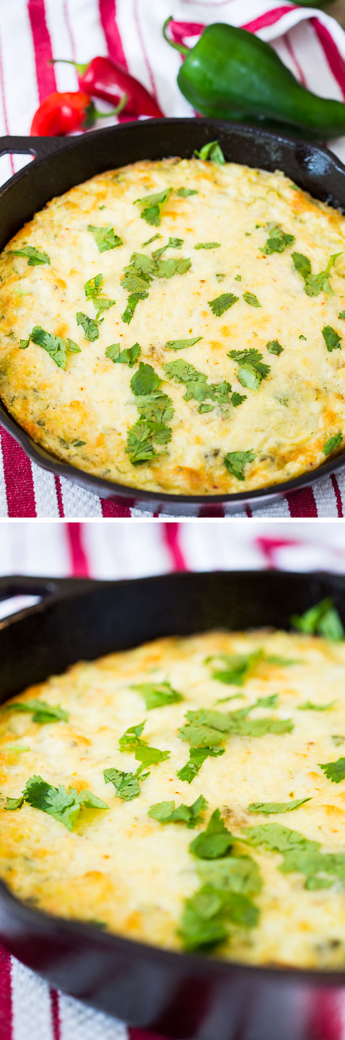 Green Chile Corn Pudding