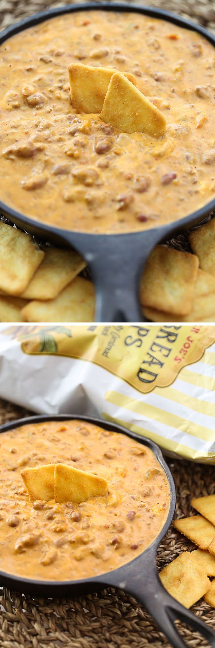Trader Joe's Recipe: 2-Ingredient Chili Cheese Dip