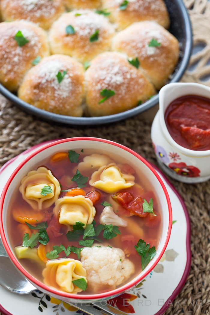 Quick and Easy Tortellini Soup