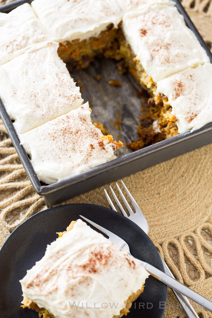 Tres Leches Carrot Cake (and 5 Easy Steps to Get a Therapist)