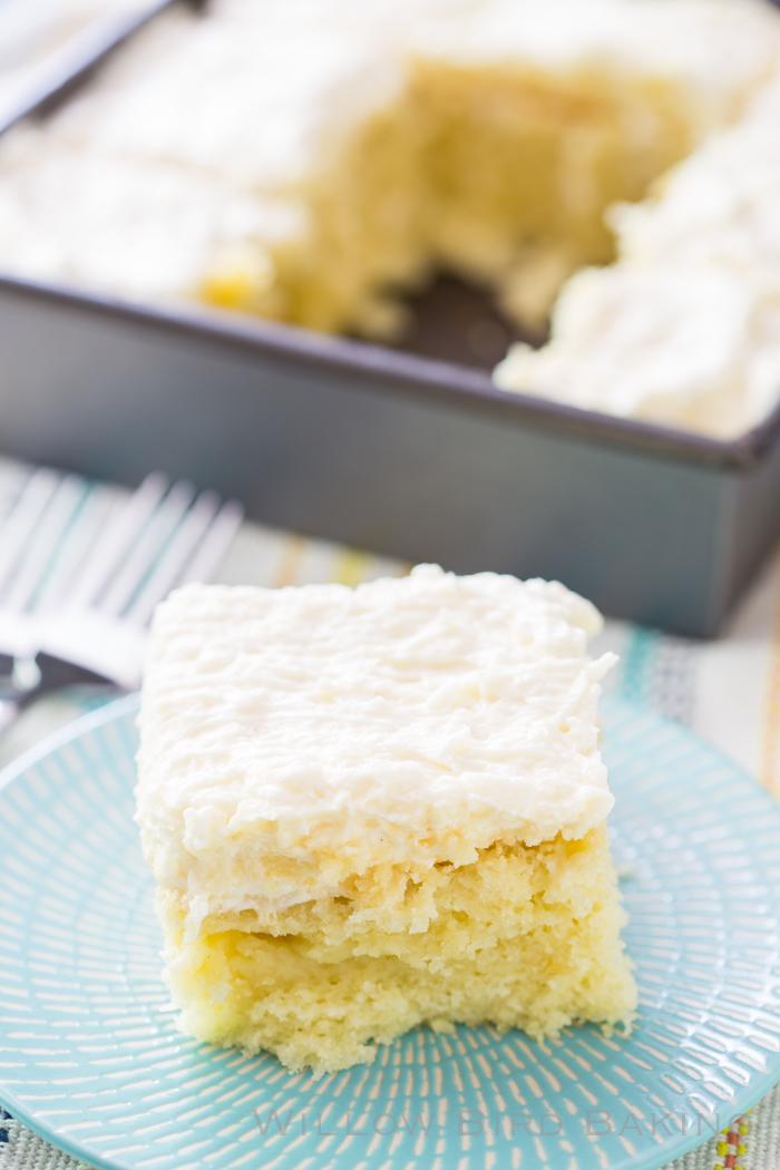 Coconut Cake with Whipped Frosting