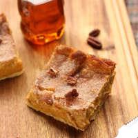 Easy Sopapilla Pumpkin Cheesecake Bars